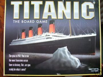 Titanic The Board Game....(RARE)